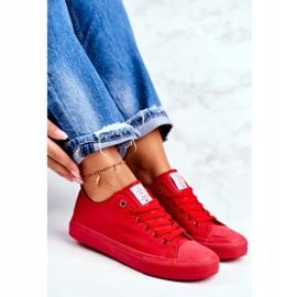 Women's Sneakers Cross Jeans Red DD2R4032 2