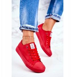 Women's Sneakers Cross Jeans Red DD2R4032 4