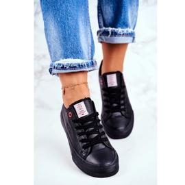 Women's Sneakers Cross Jeans Black DD2R4029 3