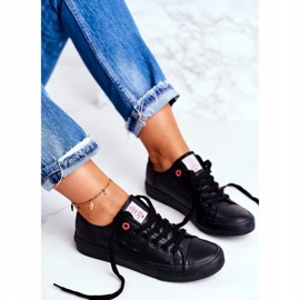 Women's Sneakers Cross Jeans Black DD2R4029 4