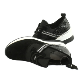 Filippo Slipony leather sports shoes DP1388 / 20 BK Nice 4