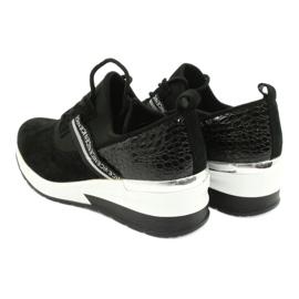 Filippo Slipony leather sports shoes DP1388 / 20 BK Nice 5