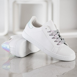 SHELOVET Fashionable Sports Shoes white 3