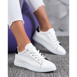 SHELOVET Classic Sport Shoes white black 5