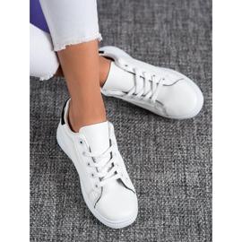 SHELOVET Classic Sport Shoes white black 1
