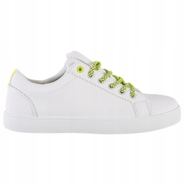 SHELOVET Sneakers With Decorative Laces white 5