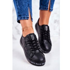 Women's Sneakers Big Star Black Snake GG274193 1