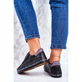 Women's Sneakers Big Star Black Snake GG274193 3