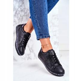Women's Sneakers Big Star Black Snake GG274193 2