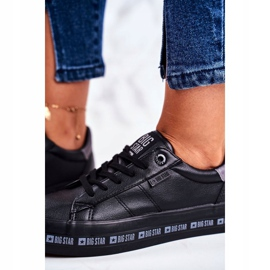 Women's Sneakers Big Star Black Snake GG274193 4