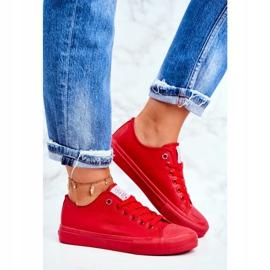 Women's Sneakers Cross Jeans Red DD2R4032 3