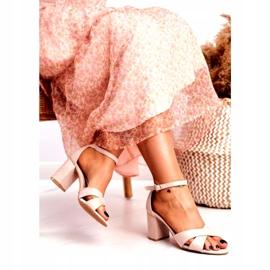 BUGO Women's Sandals Suede Beige Lady Million 2