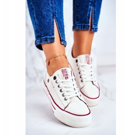 Women's Sneakers Big Star White GG274140 4