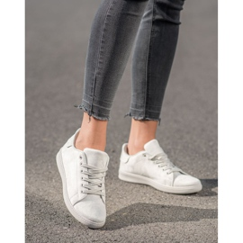SHELOVET Gray Suede Sneakers grey 4