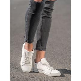 SHELOVET Gray Suede Sneakers grey 5