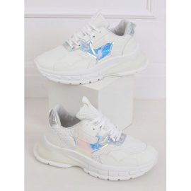 White sports shoes BH003 White 1