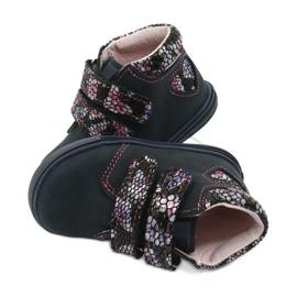 Velcro boots butterfly Mazurek 341 navy blue 4