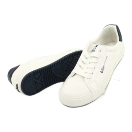 Lee Cooper W LCJL-20-31-072 shoes white navy blue 3