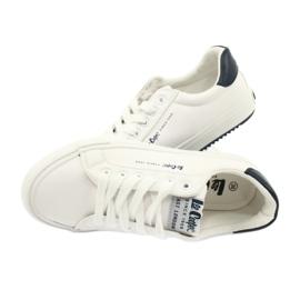 Lee Cooper W LCJL-20-31-072 shoes white navy blue 4