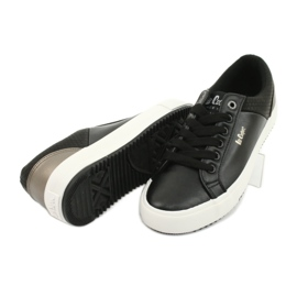 Lee Cooper W LCJL-20-31-041 sneakers black golden 3