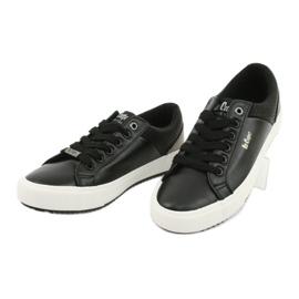 Lee Cooper W LCJL-20-31-041 sneakers black golden 2