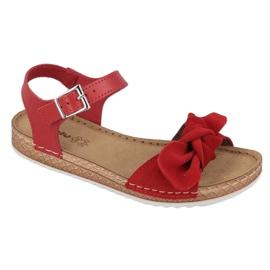 Comfort Inblu women's shoes 158D117 red 1
