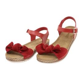 Comfort Inblu women's shoes 158D117 red 3