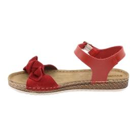 Comfort Inblu women's shoes 158D117 red 2