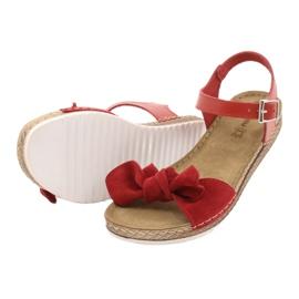 Comfort Inblu women's shoes 158D117 red 4