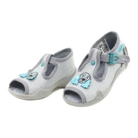 Befado children's shoes 213P121 grey 3