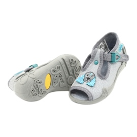Befado children's shoes 213P121 grey 4