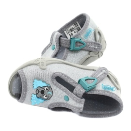 Befado children's shoes 213P121 grey 5