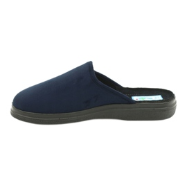 Befado men's shoes pu 132M006 navy 2