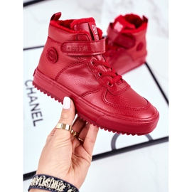 Children's Shoes Sneakers Big Star Warm Red GG374042 1