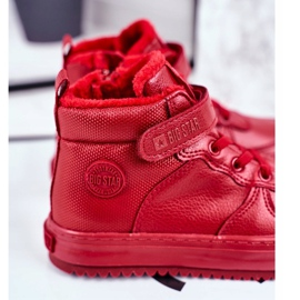 Children's Shoes Sneakers Big Star Warm Red GG374042 2