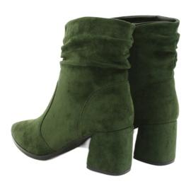 Daszyński Green MR2025-10 suede boots 2