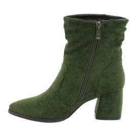 Daszyński Green MR2025-10 suede boots 1