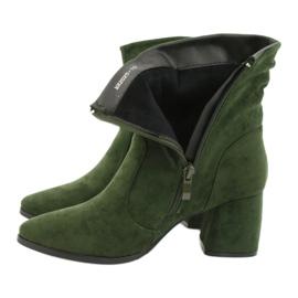Daszyński Green MR2025-10 suede boots 4