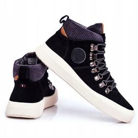Men's Sneakers Leather Big Star Black GG174330 3