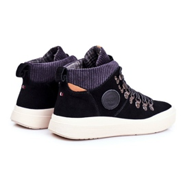 Men's Sneakers Leather Big Star Black GG174330 2