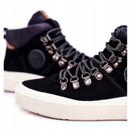Men's Sneakers Leather Big Star Black GG174330 5