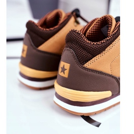 Children's Boots Big Star Camel GG374102 brown multicolored 2