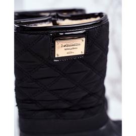 Apawwa Children's Fur-insulated Snow Boots Black Mussi 3