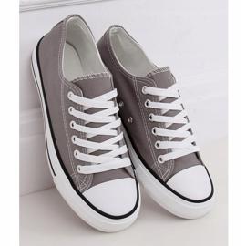 Gray classic women's sneakers JD05P Gray grey 1