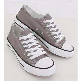 Gray classic women's sneakers JD05P Gray grey 2