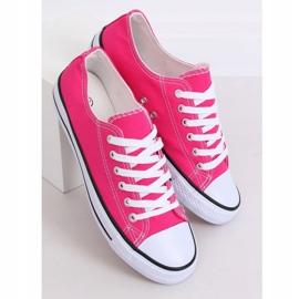 Classic women's pink sneakers JD05P Rosa 2
