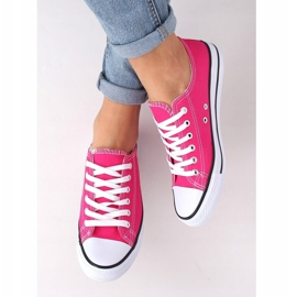 Classic women's pink sneakers JD05P Rosa 4