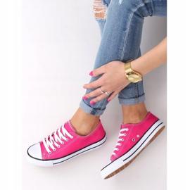 Classic women's pink sneakers JD05P Rosa 3