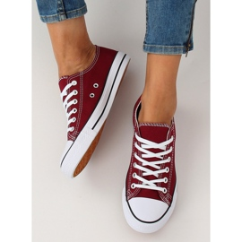 Classic women's burgundy XL03 Wine sneakers red multicolored 2