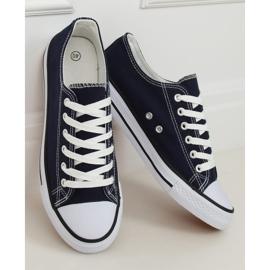 Women's classic navy blue sneakers XL03 D.BLUE 1